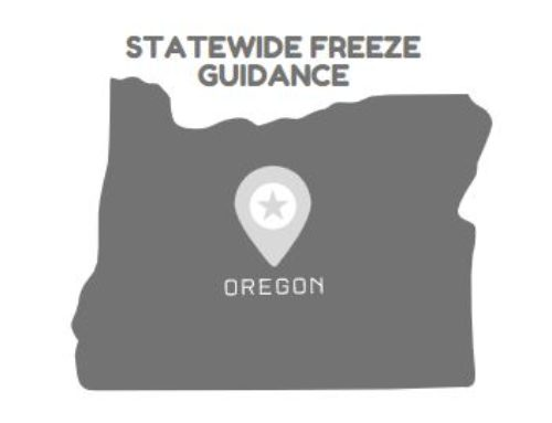 Statewide Freeze Guidance