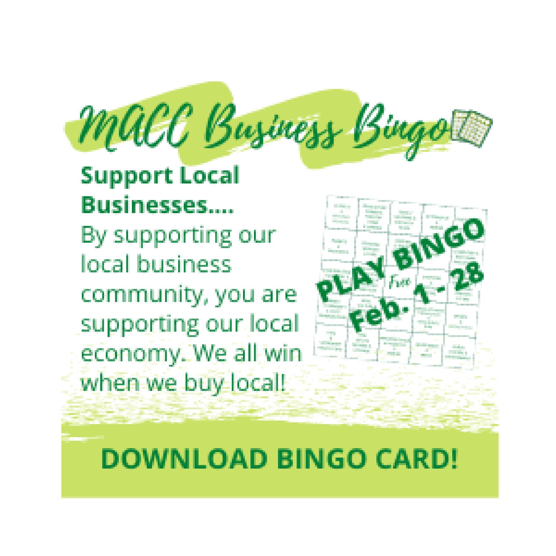 MACC Business Bingo