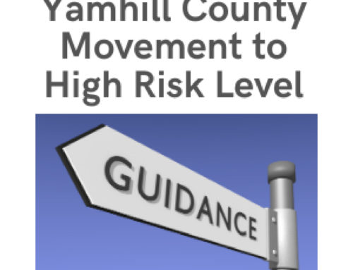 Yamhill County to Move to High Risk Friday April 23