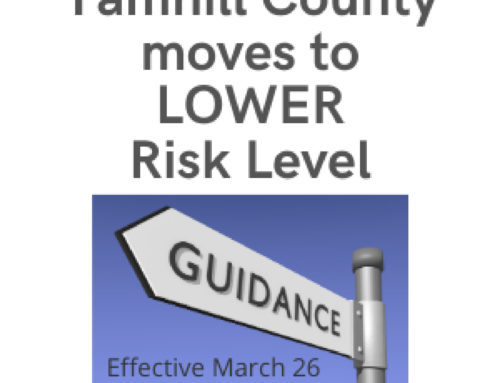 Yamhill County Opens in	Lower Risk Level Effective Friday March 26