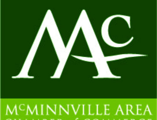 The McMinnville Area Chamber of Commerce Announces a new location for the Chamber Office