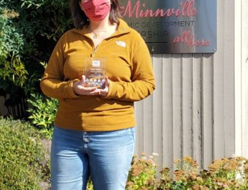 McMinnville Area Chamber of Commerce Honors Tayler Brisbin as a Community Champion